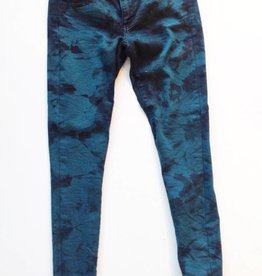 American Eagle Teal Tie Dye Stretch Denim