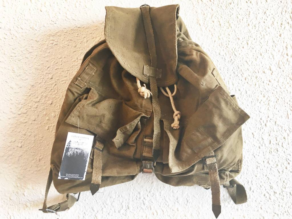 Authentic Vintage Military Backpack
