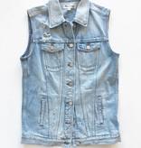 Madewell Denim Button Up Vest (XS)