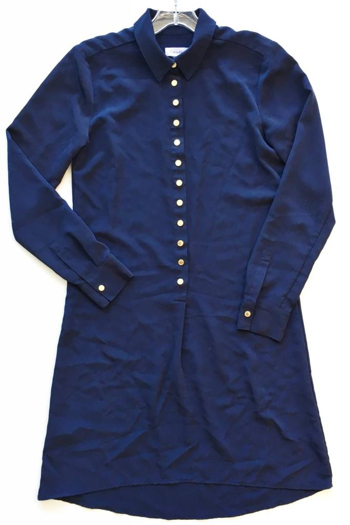 Calvin Klein Navy Tshirt Dress (2)