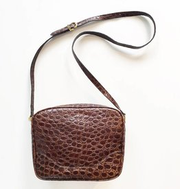 Vintage Salvatorre Ferragamo Brown Crossbody