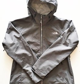 The North Face Grey Hooded Magnolia Rain Jacket (L)
