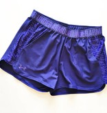 Under Armour Purple Pocketed Running Shorts (S)