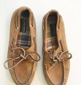 Sperry Brown Leather Top Sider Shoes (6.5)