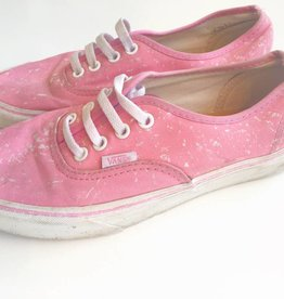 Vans Pink & White Shoes (6.5)