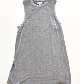 Silence + Noise Black & White Striped Dress (XS)