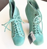 Jeffrey Campbell Teal Suede Platform Pumps (7)