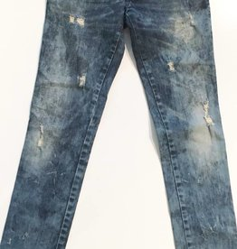 Diesel Matic Distressed Denim Skinny Jeans (25)