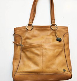 The Sak Mustard Yellow Leather Tote