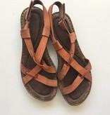 Born Orange Strap Sandals (7.5)