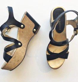Audrey Brooke Black Platform Sandals (6)