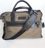 Christian Lacroix Brown Voyager II Overnighter