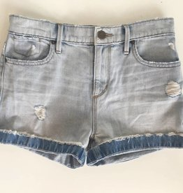 Loft Lightwash Distressed Denim Shorts (M)
