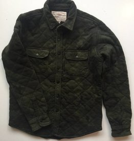 American Eagle Camo Quilted Jacket (M)