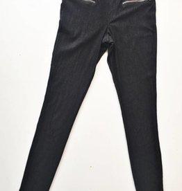 HUE Black Leggings (XS)