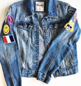 Mudd Denim Patch Jacket (S)
