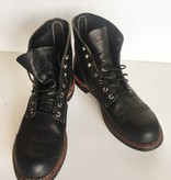 Red Wing Iron Ranger 8114 Black Leather Boot (9.5D)