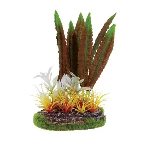Aquaria (D) UT SM SCENE - RED CRYPT W/ FIRE GRASS