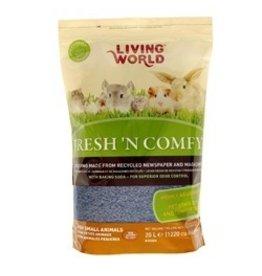 Small Animal LW Fresh n Comfy Bdng 20L-Blue-V