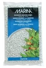 Aquaria Marina Dec.Aqua.Gravel White 2kg-V