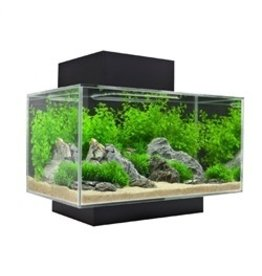Aquaria (W) FL Edge SET 23L(6 US gal)LED- GlossBlack