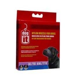 "Dog & cat Dogit Nylon Dog Muzzle, Black, XL/XXL, 24 cm/9.4"""