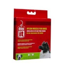 """Dog & cat Dogit Nylon Dog Muzzle, Black, Medium,14 cm/5.5"""""""