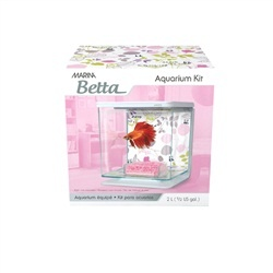 Aquaria Marina Betta Kit Floral Theme