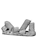 Aquaria (D) Greek Ruin column wall