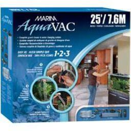 Aquaria MA Aqua-vac Water Changer w/ 25ft Hose-V