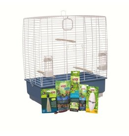 "Bird Living World Cockatiel Starter Kit - 61 cm L x 33 cm W x 67 cm H (24"" x 13"" x 26.4"")"