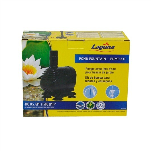 Pond LG Fountain Pump 1500LPH (400US GPH)