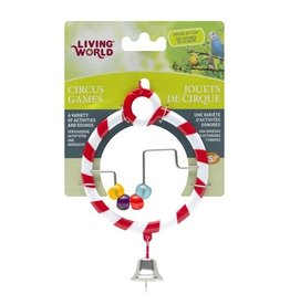 Bird Living World Circus Toy - Abacus - Red