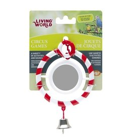 Bird Living World Circus Toy - Mirror - Red