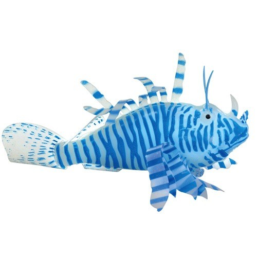 Aquaria (D) UT ACTION LIONFISH BLUE