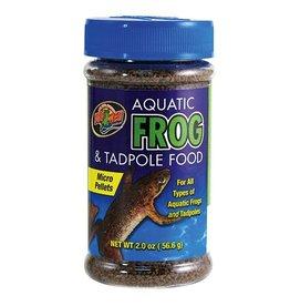 Reptiles ZM AQUATIC FROG & TADPOLE FOOD 2 OZ