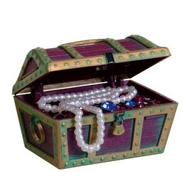 Aquaria PP ORNAMENT TREASURE CHEST SM