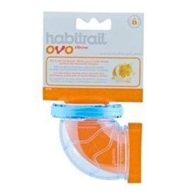 Small Animal Habitrail Ovo Elbow-V