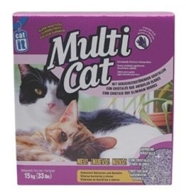 Dog & cat (W) CA Mul.CatLit. Bent.and SilicaBlend 15kg