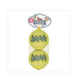 Dog & cat (W) Kong SqueakAir Ball, 2pk, Large (AST1)