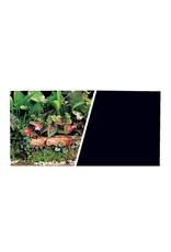 "Aquaria MA DOUBLE SIDED 18"" BACKGROUND BLACK/PLANTS.....(2.99/FT)"
