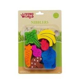 Small Animal LW Nblers Wood Chews -Fruit/Veggie Mix-V