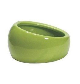 Small Animal LW Ergonomic Dish-Green-Sm-V