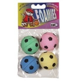 Dog & cat Catit Sponge Soccer Balls 4pcs-V
