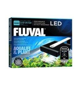 "Aquaria (D) Fluval Nano Aqualife & Plant LED Lamp - 8 W - 14 cm x 15.5 cm (5.5"" x 6"" IN)"