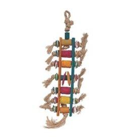 Bird (D) Living World Nature's Treasure Corn Cob Ladder, For small and medium hookbills