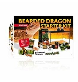 Reptiles (D) Exo Terra Bearded Dragon Starter Kit - Juvenile (LC)