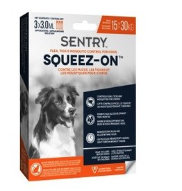 Dog & cat SENTRY® 15-30 KG Dog Flea, Tick & Mosquito Control