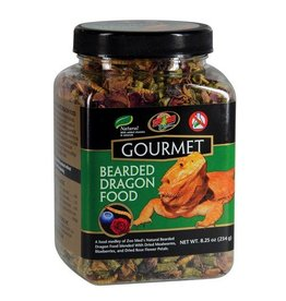 Reptiles ZM GOURMET BEARDED DRAGON FOOD 8.25OZ