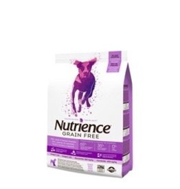 Dog & cat Nutrience Grain Free - Pork, Lamb & Venison Formula - 5 kg